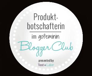 Banner Produktbotschafterin im gofeminin Blogger Club