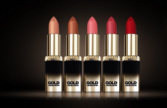 Screenshot Produkttest L'Oréal COLOR RICHE Gold Obsession Lippenstift